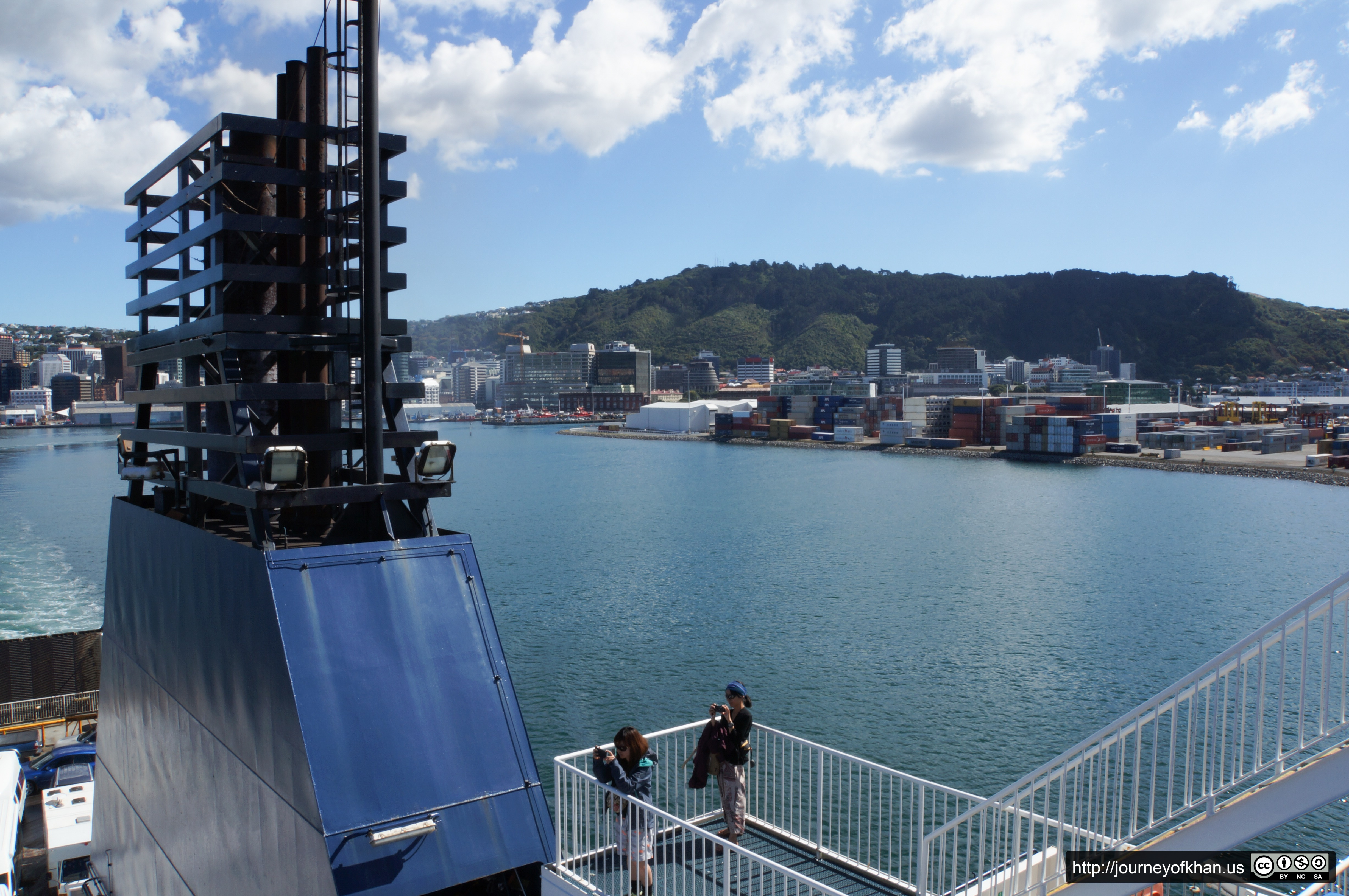Leaving Wellington (High Resolution)
