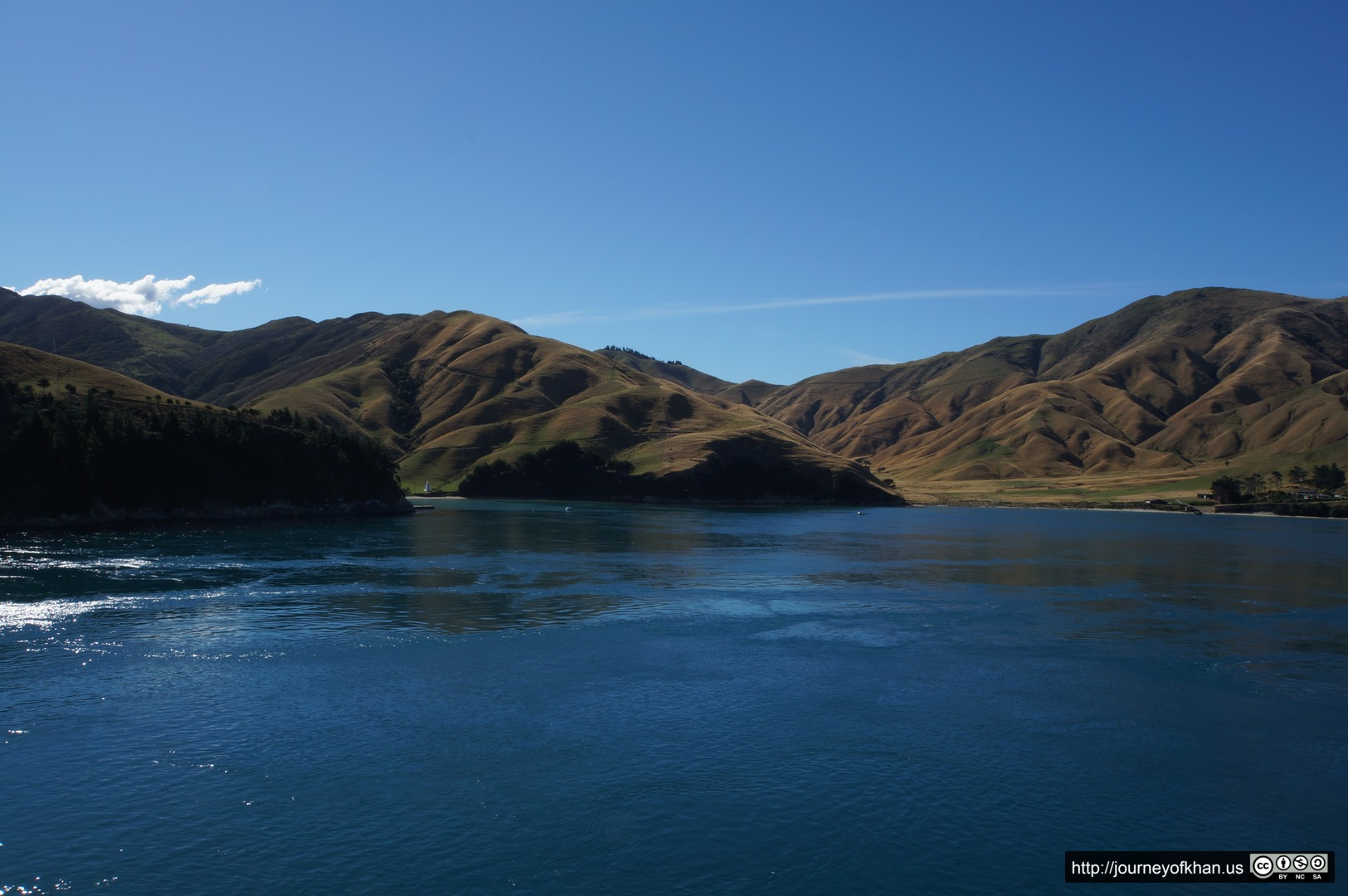 Calm Waters of New Zealand