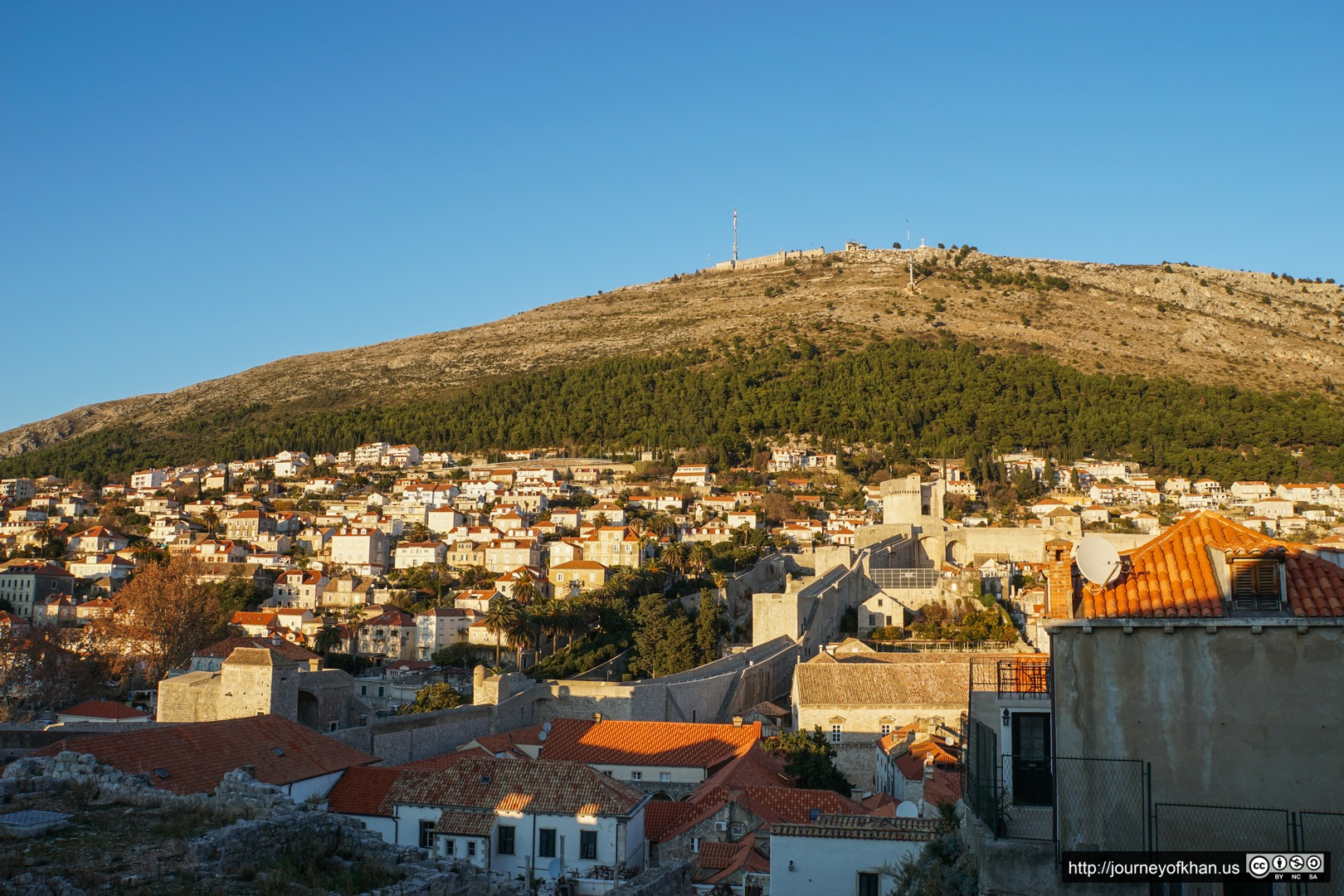 The Hill Above Dubrovnik