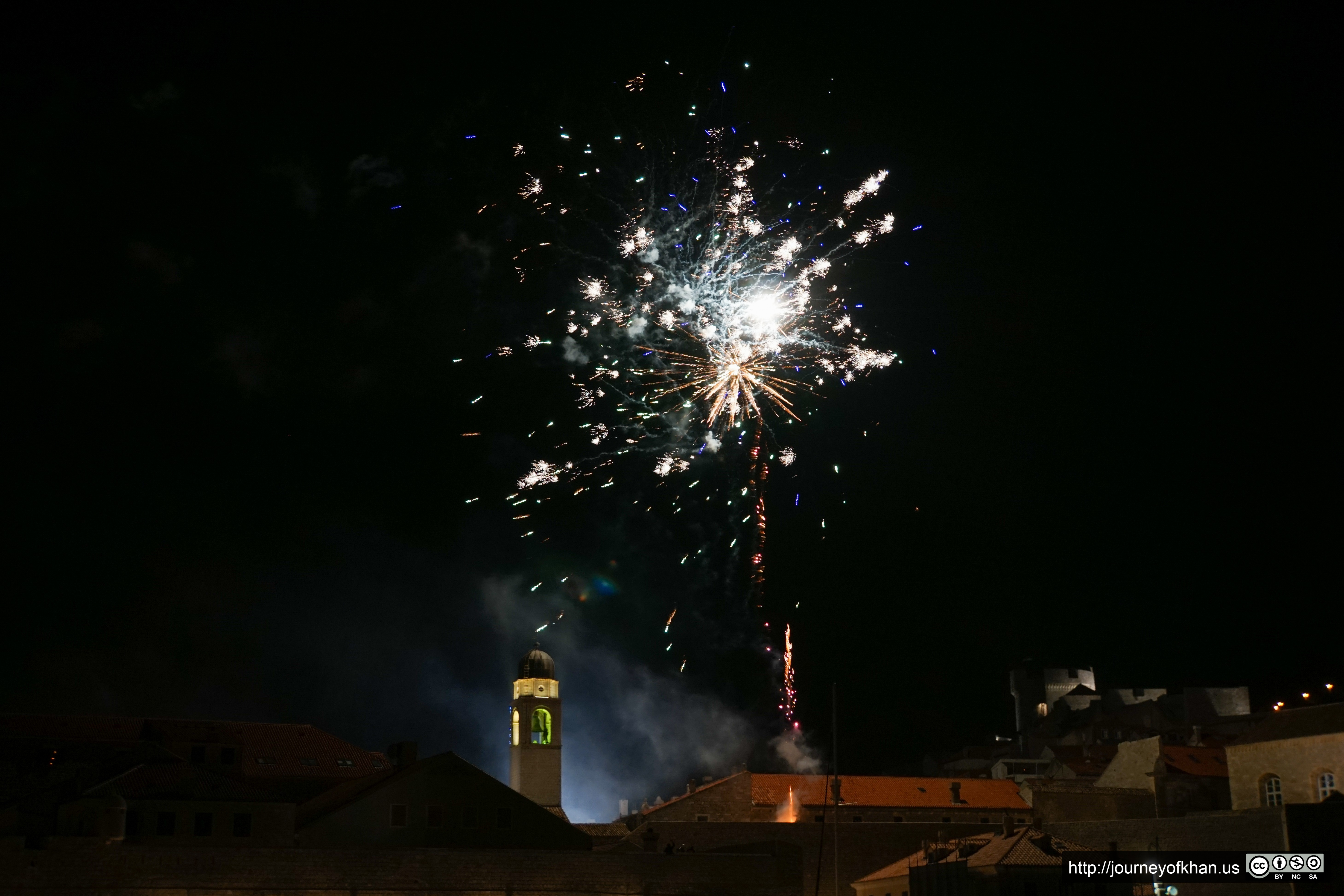 New Years in Dubrovnik (High Resolution)