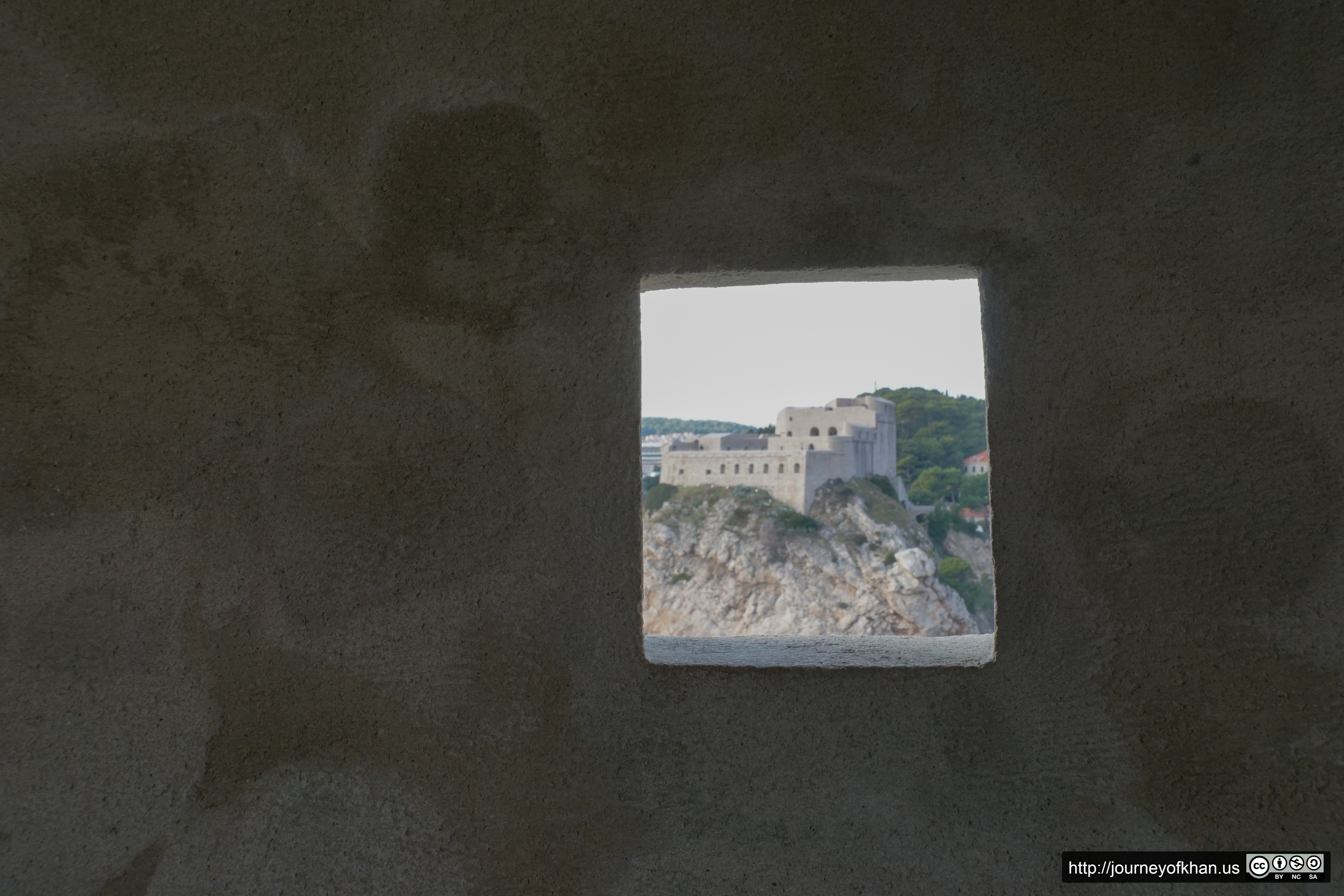 Fort in a Window (High Resolution)