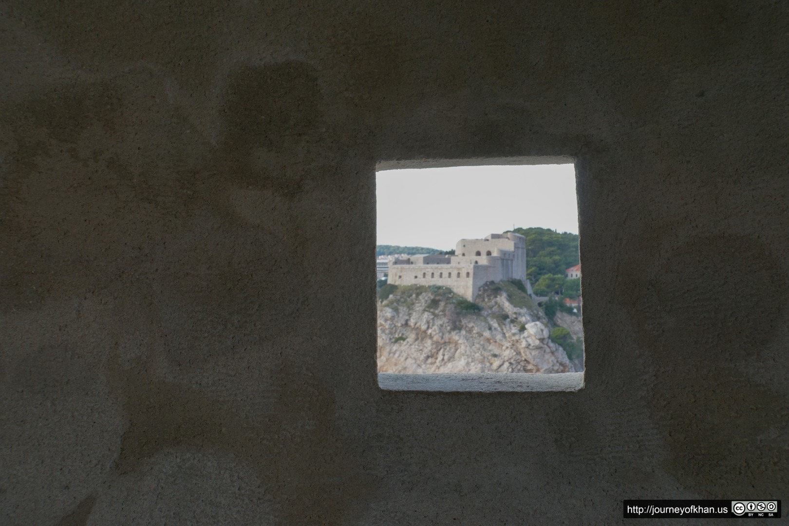 Fort in a Window