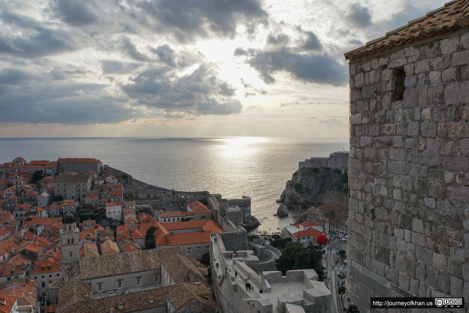 The Bay and the City of Dubrovnik