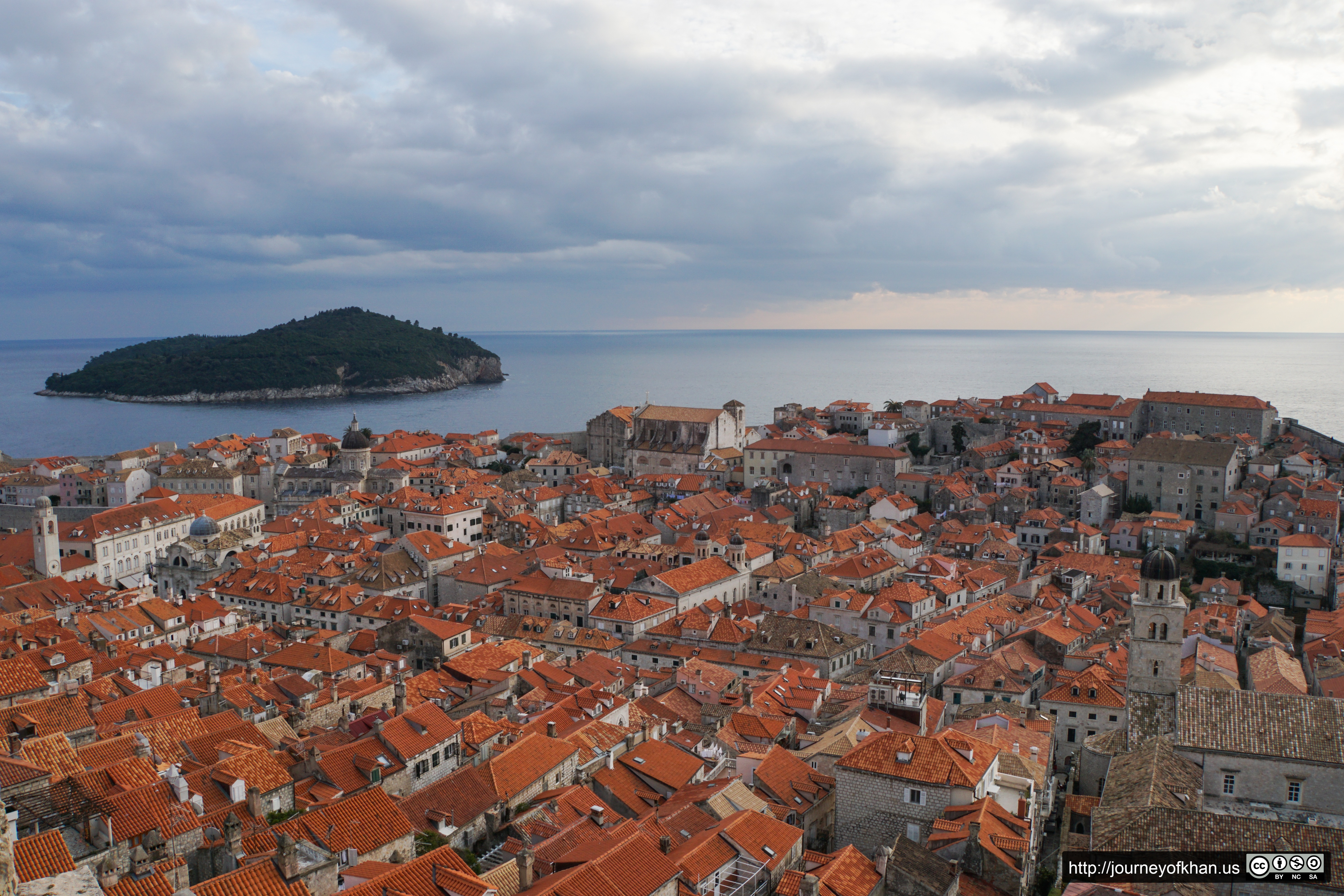 The Old City and the Sea (High Resolution)